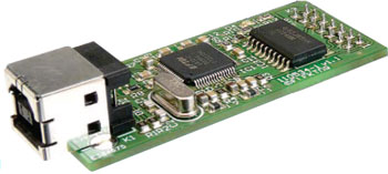 Interface JTAG par OnCE