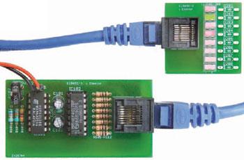 Testeur de c bles rj45 chenillard elektor magazine - Testeur cable rj45 ...
