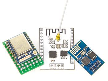 WLAN pour microcontrôleurs