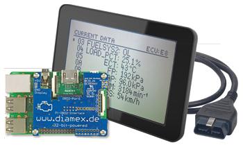 testeur portatif OBD2 à base de Raspberry Pi