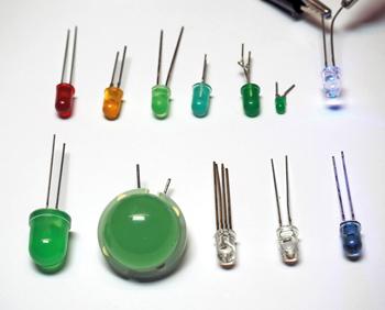 LED en couleur