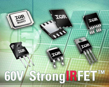 Nouveaux MOSFET pour applications compactes de forte puissance