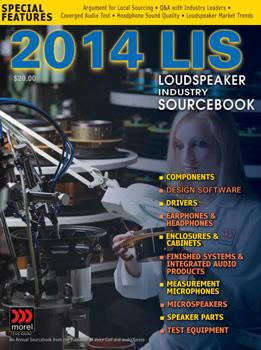 Elektor + audioXpress = 2014 Loudspeaker Industry Sourcebook (LIS)