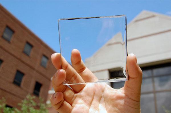 Des panneaux solaires en guise de fenêtres