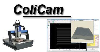 Fraisage 3D : Le logiciel ColiCam offert avec la fraiseuse Profiler Pro