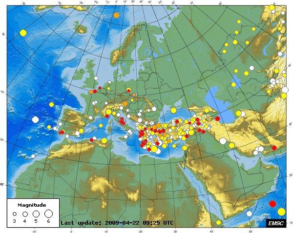 Les séismes qui font trembler l'internet