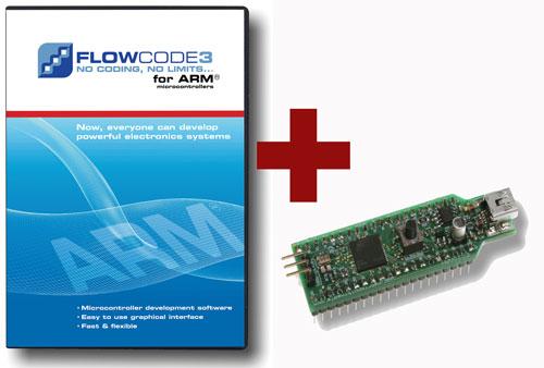 Flowcode ARM Pro avec programmateur ECIO gratuit