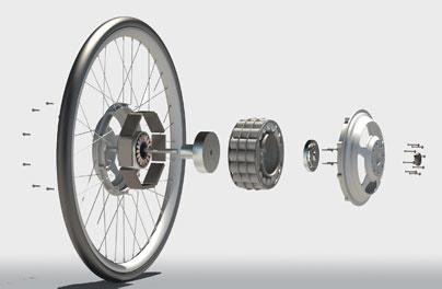 Moyeu électrique pour vélo