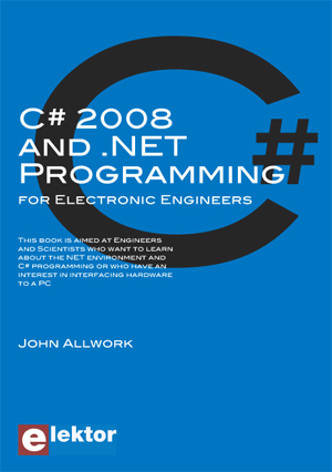 Nouveau livre « C# 2008 and .NET Programming for Electronic Engineers »