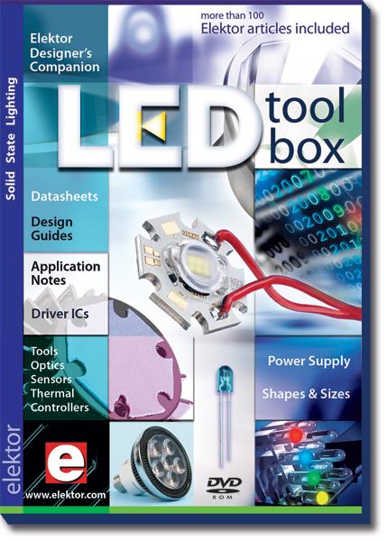 Nouveau DVD-ROM : LED Toolbox ELEKTOR