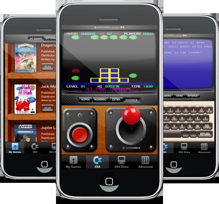 Commodore 64 : 27 ans et toujours en jeu(x)... sur l'iPod