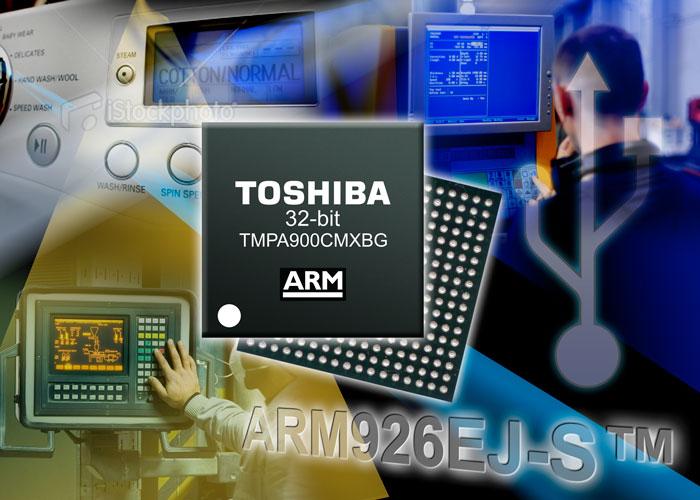 Nouveau microcontrôleurs à 32 bits ARM9 Toshiba