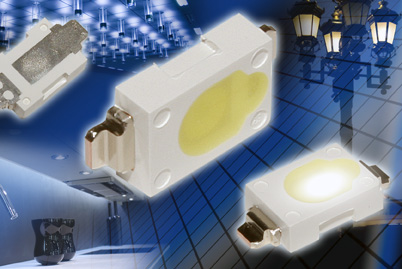 100 lumens pour des LED blanches miniatures