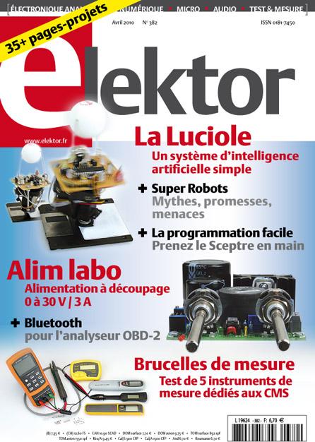 Robotique et l'intelligence artificielle dans le numéro d'avril d'Elektor