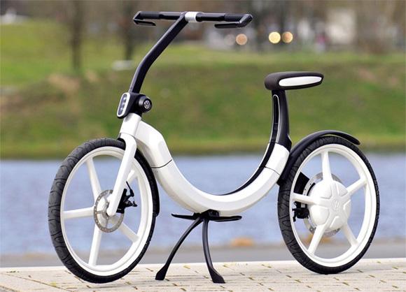 Vélo é(c)lectrique sans pédales