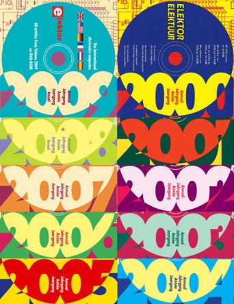 Port gratuit et réduction de prix massive sur TOUS les CD-ROM annuels d'Elektor