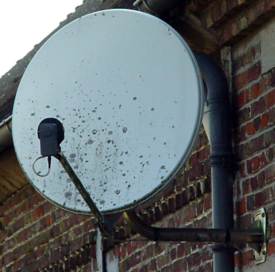 Antenne satellite pour EARLY BIRD
