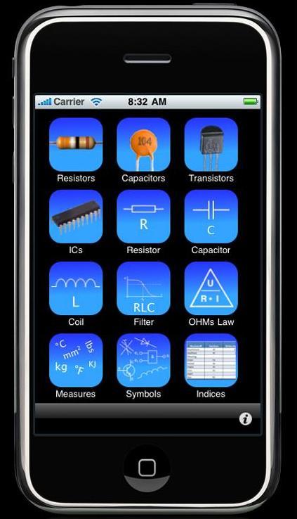 couteau Suisse électronique sur l'iPhone