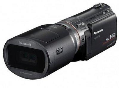 Commercialisation (prochaine) d'un caméscope 3D