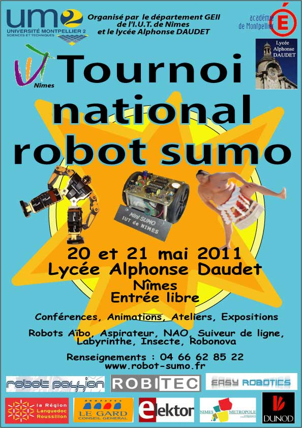 7e tournoi national de robots Sumo