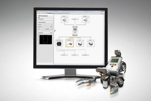 LabVIEW pour Lego Mindstorms Robotics