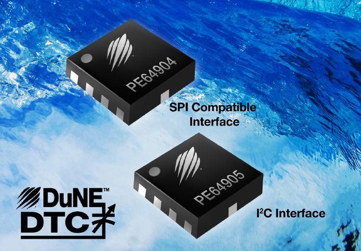 Condensateurs ajustables par bus I2C ou SPI
