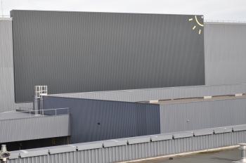Mur solaire pour Toyota à Valenciennes