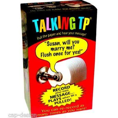 Gadget fécal : le dévidoir de papier hygiénique qui parle !