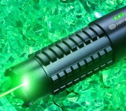 Pointeur laser visible depuis l'espace