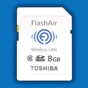 WiFi b, g et n sur des cartes de mémoire SD