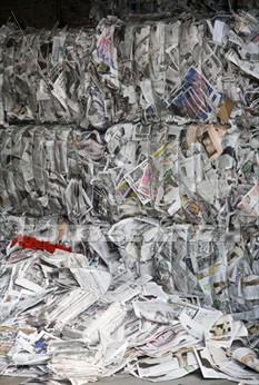 Le plein de vieux journaux pour votre voiture ?