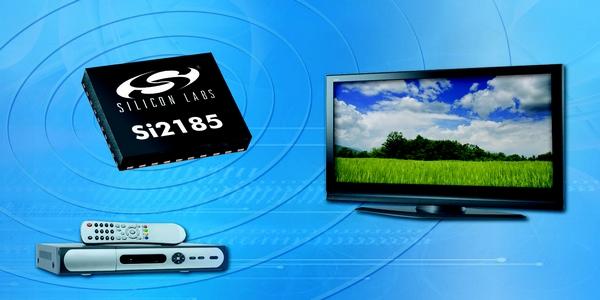 TV hybride sur une seule puce