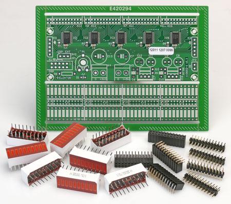 VU-mètre audio à traitement numérique de signal