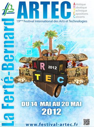 19e festival ARTEC : Coupe de France de robotique et Eurobot 2012