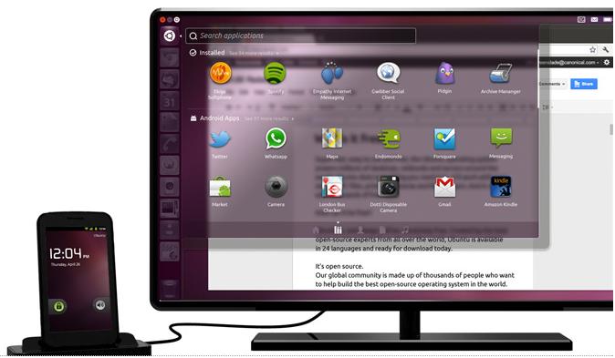 Ubuntu sur votre téléphone