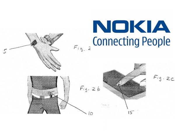 Brevet Nokia pour un tatouage magnétique sur la peau