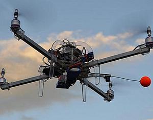 Le drone livreur de pizza