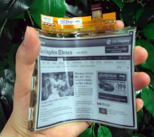 Un livre électronique aussi souple que le livre en papier