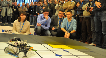 Coupes de robotique pour les lycéens et les étudiants : 2e édition