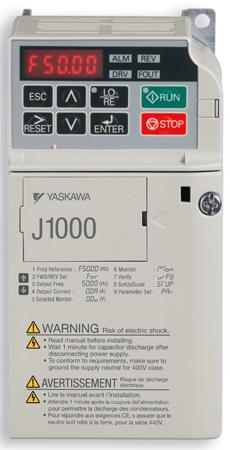 Yaskawa série 1000,  nouvelle gamme de variateurs de vitesse
