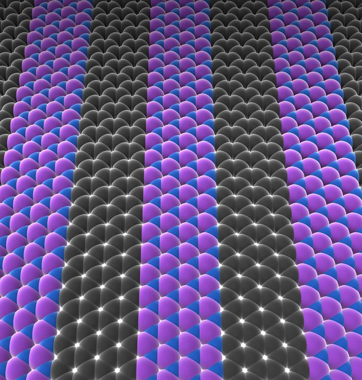 Des circuits intégrés d'épaisseur atomique