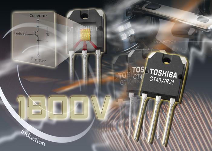 1800 V de tension de blocage pour un IGBT