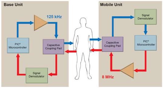 Le corps humain comme canal de communication sécurisé