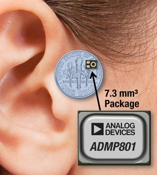 Microphone MEMS omnidirectionnel de haute qualité