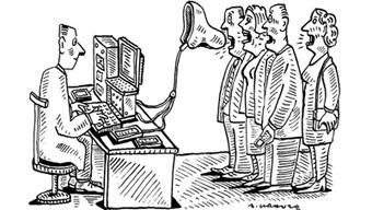 Un blair électronique et diagnostiqueur