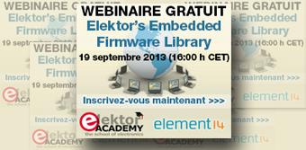 Webinaire gratuit : Embedded Firmware Library