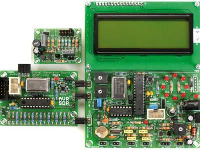 Radio logicielle avec AVR : 3 kits complets
