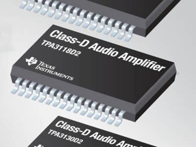 Amplificateurs audio classe D TI : rendement et qualité