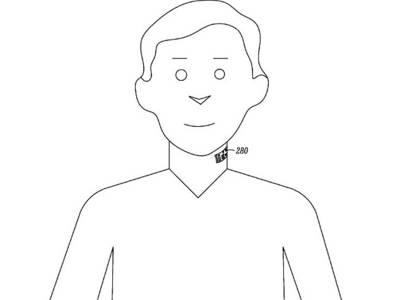 Le téléphone tatoué sur le larynx