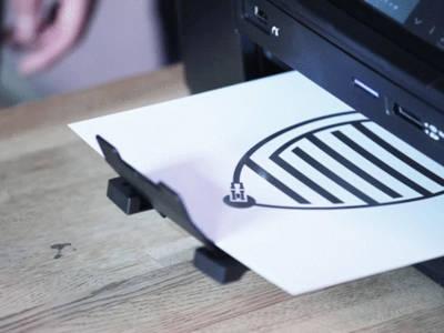 Imprimante à jet d'encre… conductrice